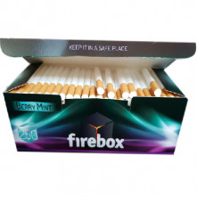 Гильзы для табака Firebox Berry черника  250 шт